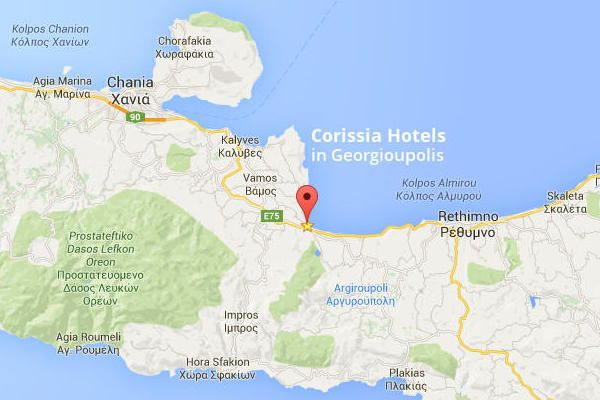 corissia hotels crete greece