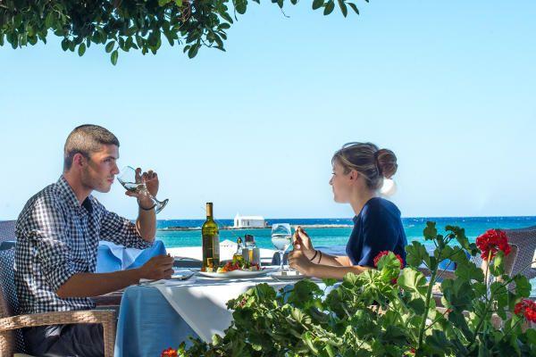 Pasta Bar Restaurant Armonia In Corissia Park Georgioupolis Kreta