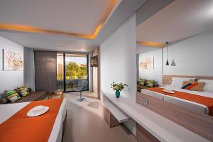 Corissia Harmony Hotel Superior Zimmer mit eigenem Pool in Georgioupolis Kreta