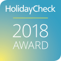 HolidayCheck Award 2018