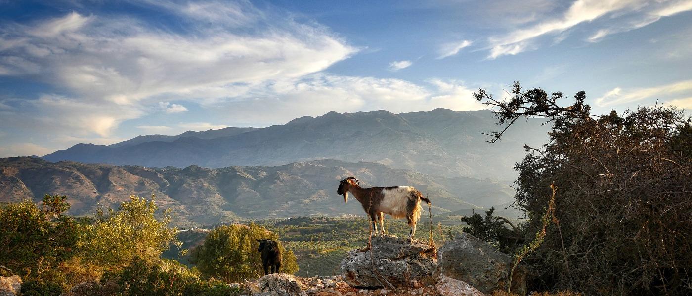 Der Himmel über Kreta