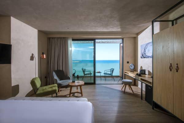 Doppelzimmer Premium mit direktem Meerblick